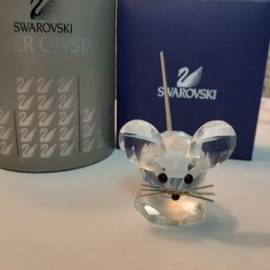 Swarovski crystal medium mouse no box